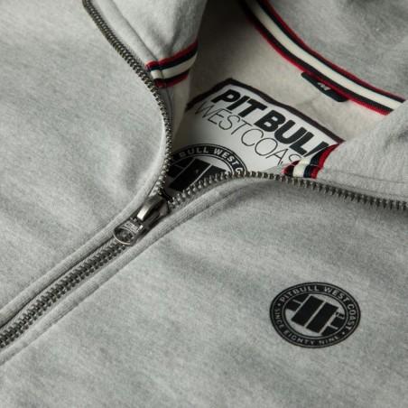 Pit Bull Bluza rozpinana Small Logo 18 Szara 3