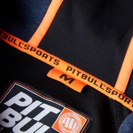 Pit Bull Bluza z kapturem rozpinana Logan Granatowa 12