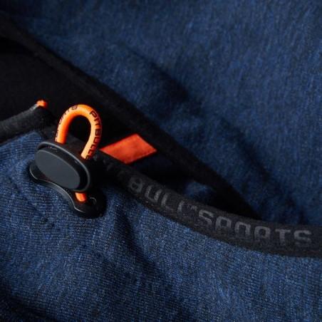 Pit Bull Bluza z kapturem rozpinana Logan Granatowa 14