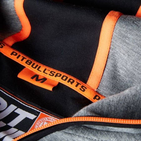 Pit Bull Bluza z kapturem rozpinana Logan Szara 5