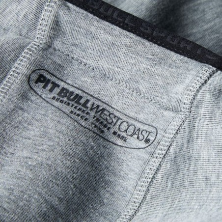 Pit Bull Bluza z kapturem rozpinana Logan Szara 7