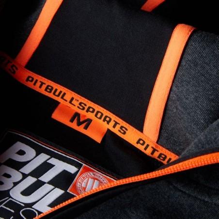 Pit Bull Bluza z kapturem rozpinana Logan Grafitowa 4