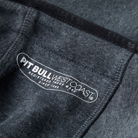 Pit Bull Bluza z kapturem rozpinana Logan Grafitowa 6