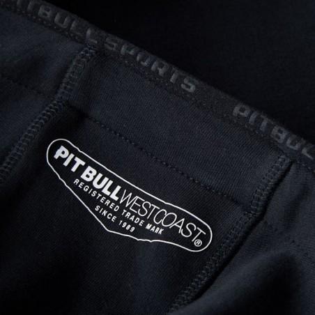 Pit Bull Bluza z kapturem rozpinana Logan Czarna 7