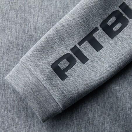 Pit Bull Bluza z kapturem rozpinana Landis Szara 8