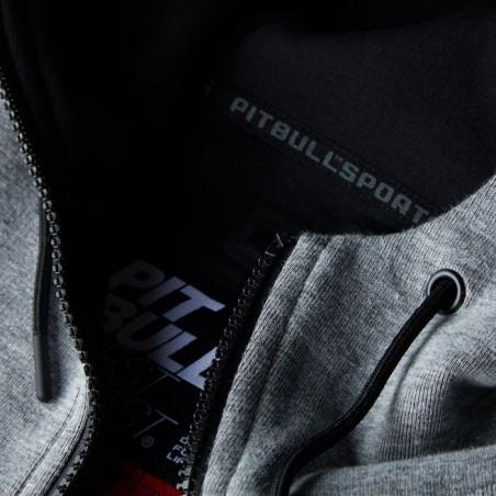 Pit Bull Bluza z kapturem rozpinana Landis Szara 9