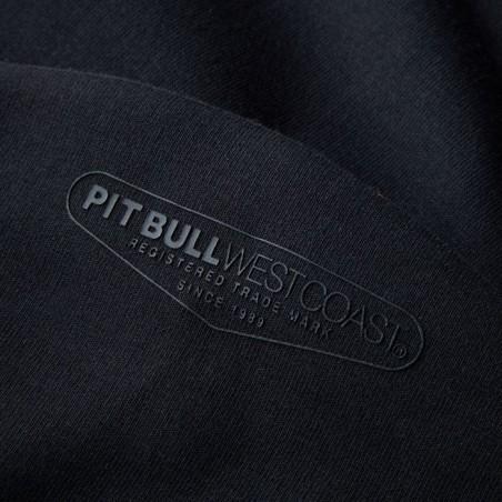 Pit Bull Bluza z kapturem rozpinana Landis Czarna 5