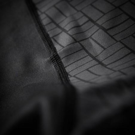 Pit Bull Rashguard Bricks Krótki Rękaw Czarny 6