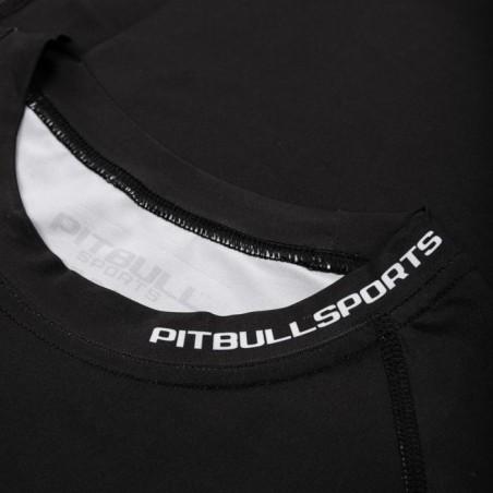 Pit Bull Rashguard Origin Długi Rękaw Czarny 4
