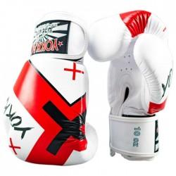 Yokkao Rękawice bokserskie X Białe 1