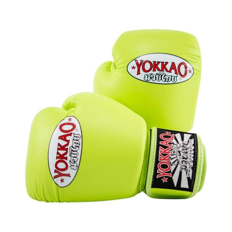 Yokkao Rękawice bokserskie Matrix Lime Punch