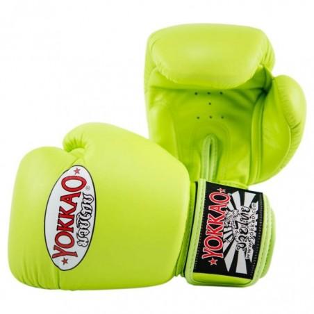 Yokkao Rękawice bokserskie Matrix Lime Punch 2