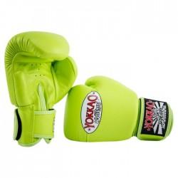 Yokkao Rękawice bokserskie Matrix Lime Punch 1
