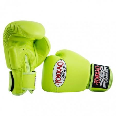 Yokkao Rękawice bokserskie Matrix Lime Punch 3