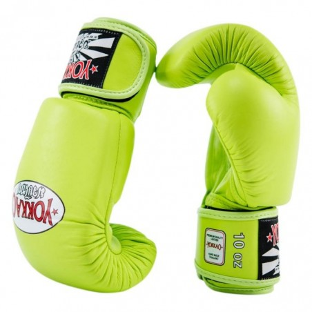 Yokkao Rękawice bokserskie Matrix Lime Punch 4