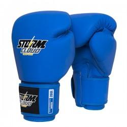 StormCloud Rękawice do Muay Thai Blizzard Classic Niebieskie 1