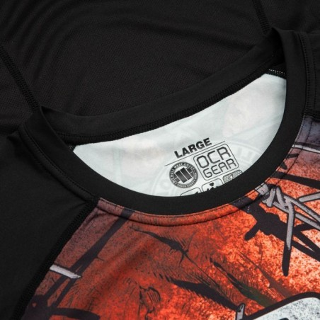 Pitbull Rashguard Mesh Performance Pro Plus Wired Skull Długi Rękaw 7