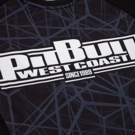 Pitbull Rashguard Mesh Performance Pro Plus Dark Ray Długi Rękaw 3