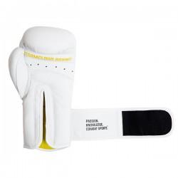 StormCloud Rękawice bokserskie Boxing Pro Białe 1
