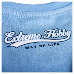 Extreme Hobby T-shirt Dziecięcy Tail Błękitny 1