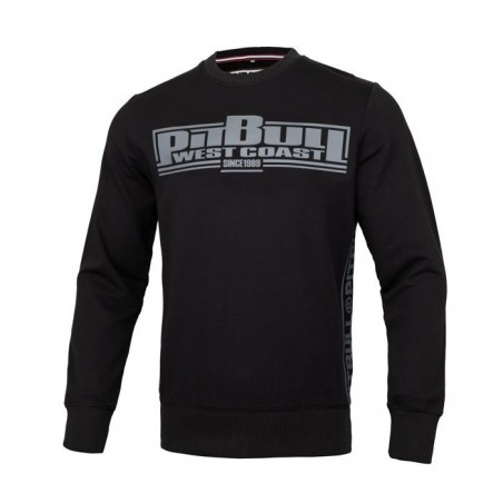 Pit Bull Bluza French Terry Boxing Czarna 1
