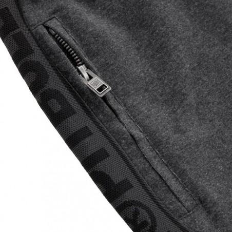 Pit Bull Spodnie Dresowe French Terry Samll Logo Grafitowe 6