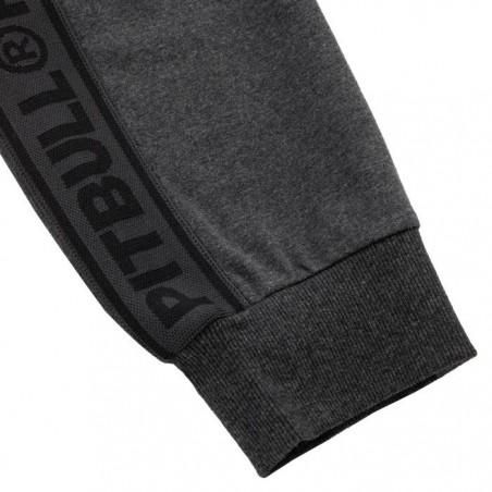 Pit Bull Spodnie Dresowe French Terry Samll Logo Grafitowe 7