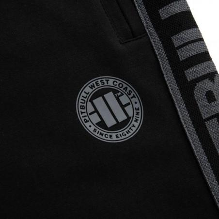 Pit Bull Spodnie Dresowe French Terry Samll Logo Czarne 5