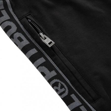 Pit Bull Spodnie Dresowe French Terry Samll Logo Czarne 6