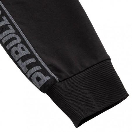 Pit Bull Spodnie Dresowe French Terry Samll Logo Czarne 7