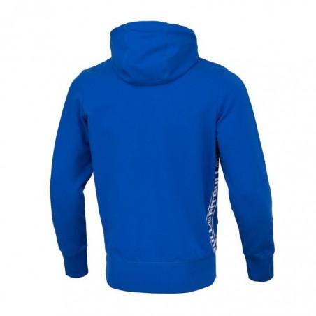 Pit Bull Bluza z kapturem rozpinana French Terry Small Logo Niebieska 2