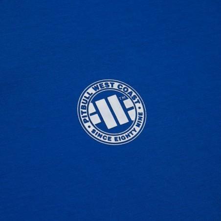 Pit Bull Bluza z kapturem rozpinana French Terry Small Logo Niebieska 3