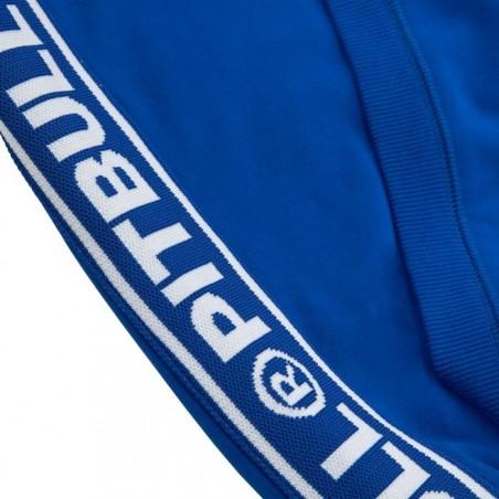 Pit Bull Bluza z kapturem rozpinana French Terry Small Logo Niebieska 4