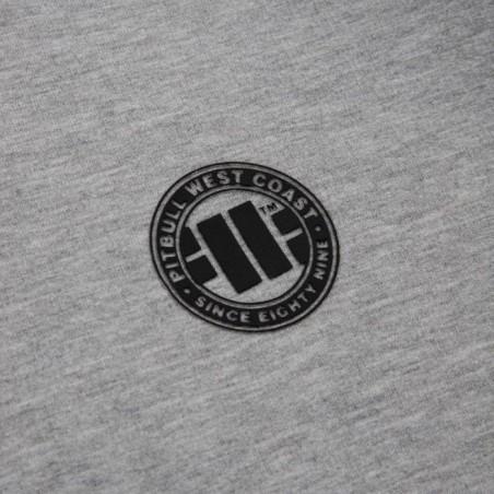 Pit Bull Bluza z kapturem rozpinana French Terry Small Logo Szara 3
