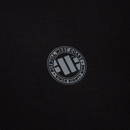 Pit Bull Bluza z kapturem rozpinana French Terry Small Logo Czarna 4