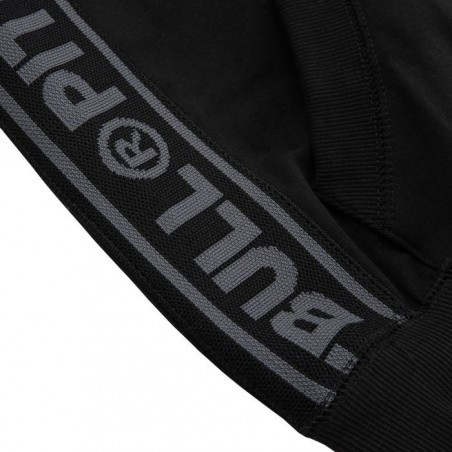 Pit Bull Bluza z kapturem rozpinana French Terry Small Logo Czarna 5