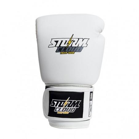 StormCloud Rękawice do Muay Thai Blizzard Classic Białe 2