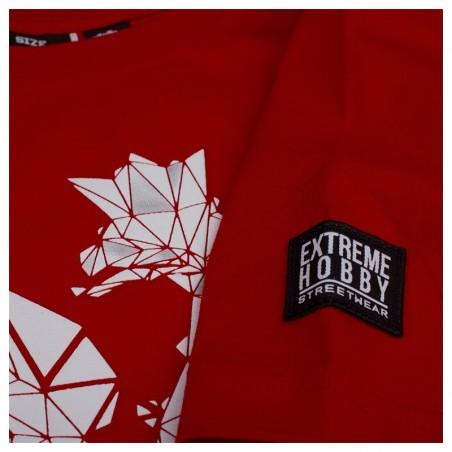 Extreme Hobby T-shirt Polska Godło Czerwony 4