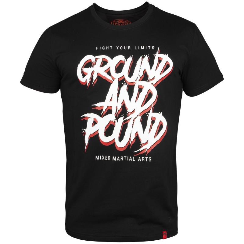 Venum T-shirt Ground And Pound Czarny