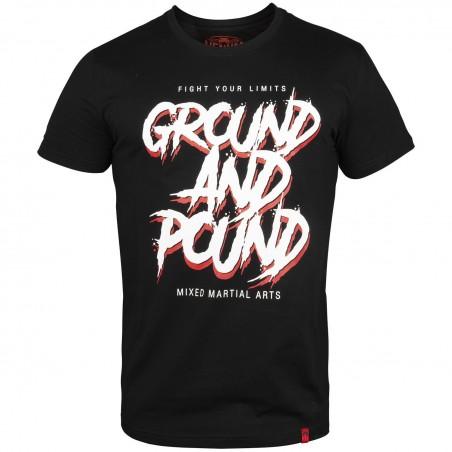 Venum T-shirt Ground And Pound Czarny 1
