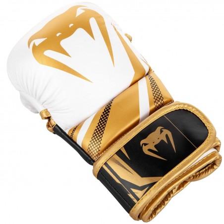 Venum Rękawice sparingowe do MMA Challenger 3.0 Białe/Złote 2