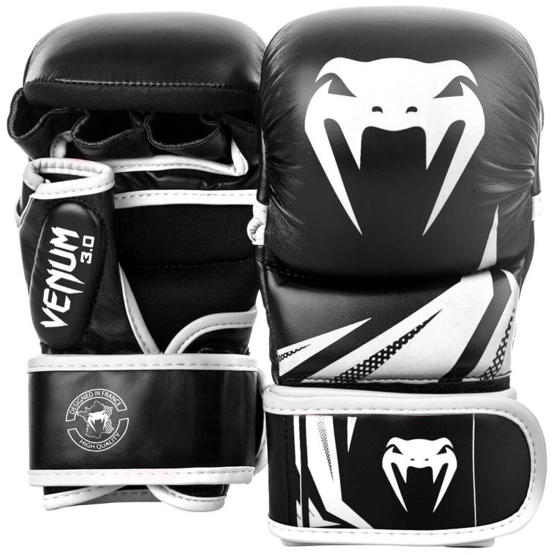 Venum Rękawice sparingowe do MMA Challenger 3.0 Czarne/Białe