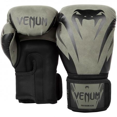 Venum Rękawice bokserskie Impact Khaki 2