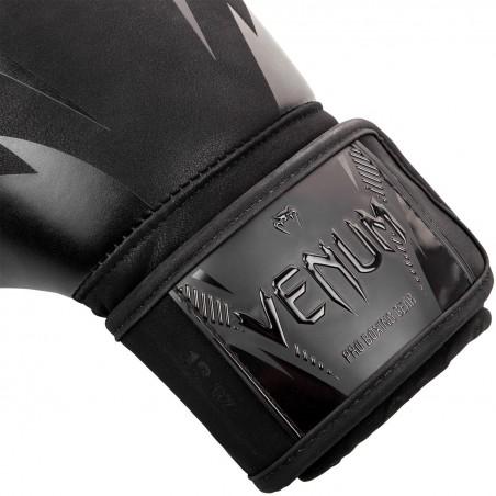 Venum Rękawice bokserskie Impact Czarne/Czarne 3