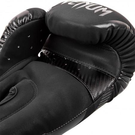 Venum Rękawice bokserskie Impact Czarne/Czarne 4