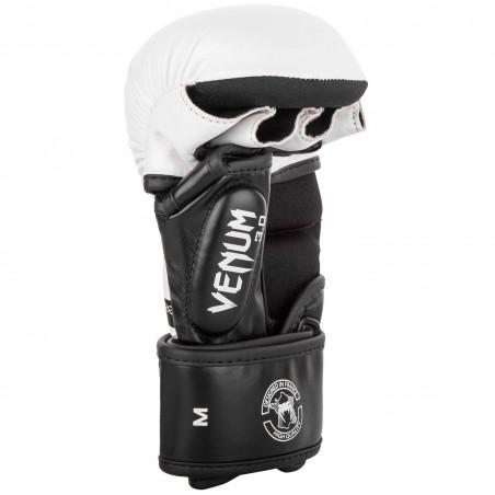 Venum Rękawice sparingowe do MMA Challenger 3.0 Białe/Czarne 4