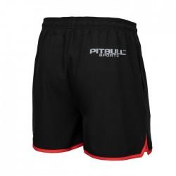 Pitbull Spodenki Sportowe Performance Pro Plus Czarne/Czerwone 1