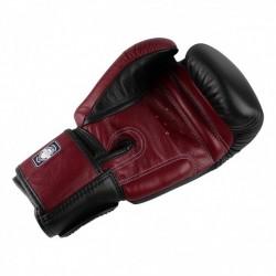 Twins Rękawice bokserskie BGVL-3 Czarne/Wiśniowe 1