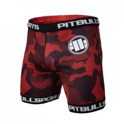 Pit Bull Szorty VT Dillard Czerwone 1
