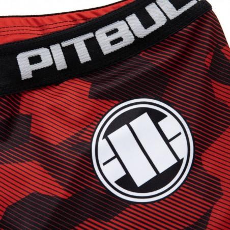 Pit Bull Szorty VT Dillard Czerwone 4